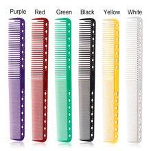 Escova de cabelo profissional, 6 cores, barbeiro, cabeleireiro, anti estática, tangle pro, ferramenta para estilização e cuidado de salão