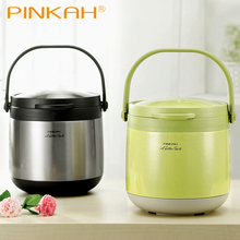 Pinkah 3L 4.5L 304 Stainless Steel Vacuum Thermos Food Jar Keep Hot 24 Hours Lunch Box No Electricity Cooking