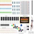 Componentes eletrônicos Fãs TE471 Elemento Pacote Conjunto Kit RGB LEVOU Para Arduino