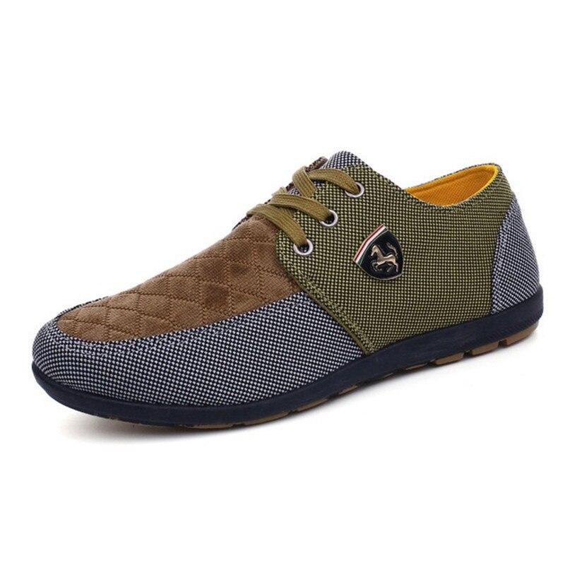 HTB1Zm8 elWD3KVjSZFsq6AqkpXaK 2019 Shoes Men Flats Canvas Lacing Shoes Breathable Men Casual Shoes Fashion Sneakers Men Loafers Wholesale Men 39 S Shoes