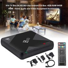 H10 Android 9.0 Smart TV Box 4GB 32GB 64GB Allwinner H6 Quad Core HDR H.265 6K Dual WiFi USB 3.0 Network Media Player vmade newest original v96mini android 9 0 os smart tv box allwinner h6 4gb 32gb h 265 hevc support youtube facebook media player