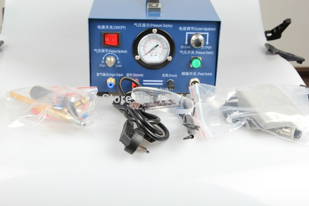 GOLDSMITH BRAND 400W NEW ARGON WELDING MACHINE FOR JEWELRY