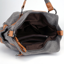 2018 Female Canvas Hand Bag Vintage Women Crossbody Bag Girls Shoulder Bag Bolsa Feminina Ladies Big Capacity Handbag