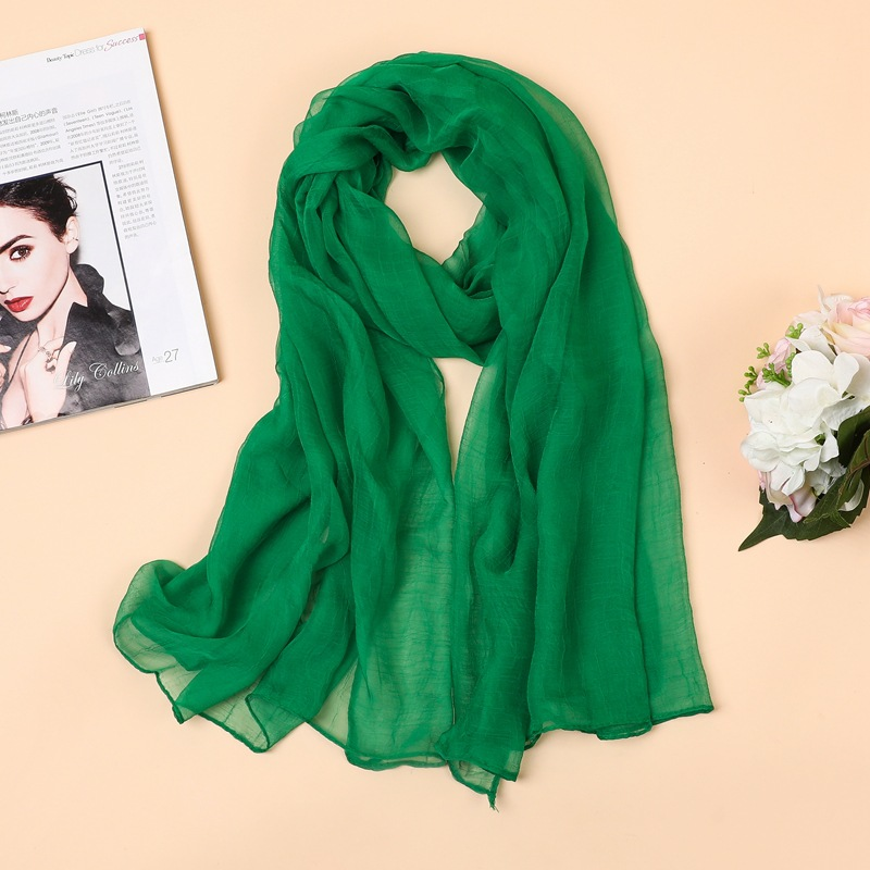Fashion Chiffon   Scarf     Wrap   Shawl for Women Solid Color Summer Beach Long   Scarves   Muslim Foulard Femme Hijab Echarpe 180*90cm