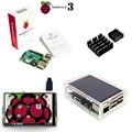 Raspberry Pi 3 Модель B + 3.5 TFT Малины Пэ3 Сенсорный ЖК-Экран + Акриловый Чехол + радиаторы Для Raspbery Pi 3 Комплект