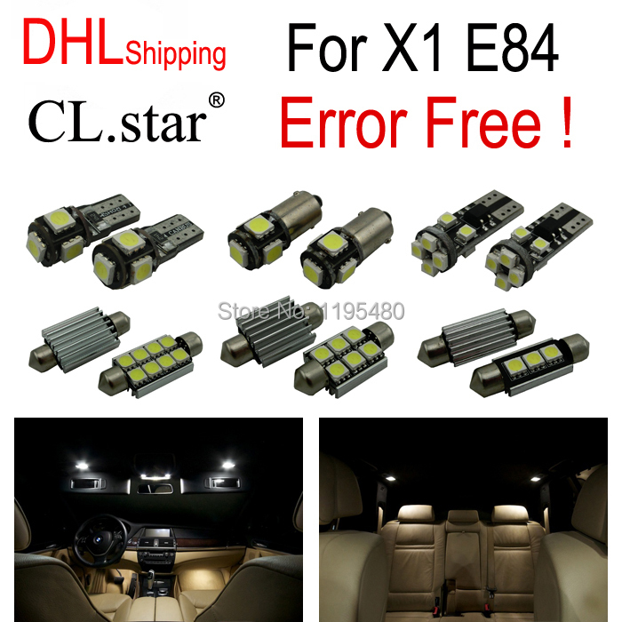 15pc X DHL shipping Error Free LED Interior Light Kit Package for BMW X1 E84 (2012-2015) lascana lascana la061ewhns70