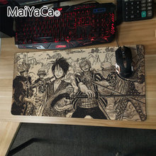 MaiYaCa Anime large One Piece mouse pad 30×60 cm Locked Edge Keyboard Mat Mouse pads