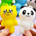 Cute Cartoon Animal Cat Silicone Key Holder  Case Bag Wallet Pendant 9XYX