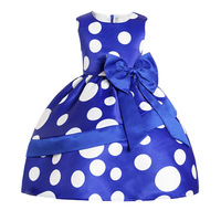 Cotton Baby Girl Dress 2018 New Summer O Neck Kids Princess Wedding Dresses For Girls 3