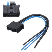1pcs car heater blower motor resistor wiring loom harness connector for  peugeot 206 307 206cc 307sw