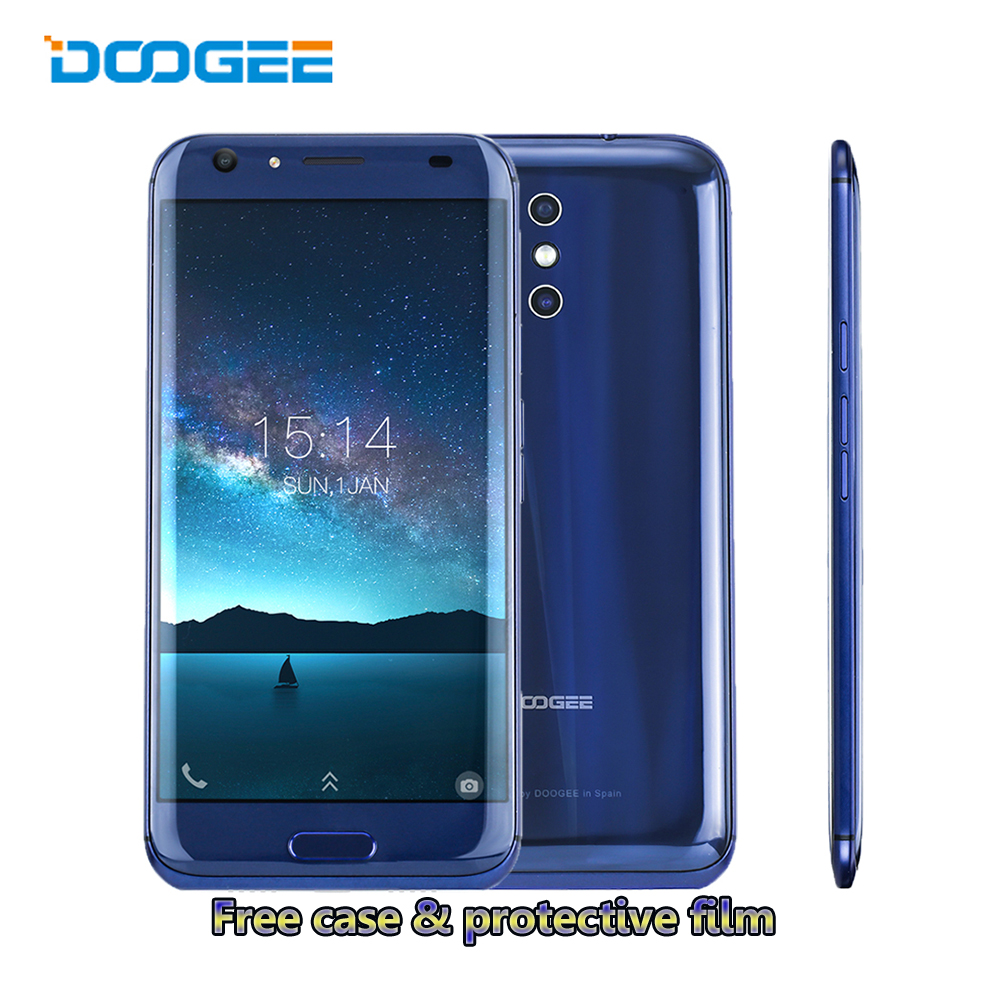 """DOOGEE BL5000 4G LTE Smartphone 5050mAh MT6750T Octa Core Androind 7.0 Mobile Phon 5.5"""" FHD Dual Rear Camera 13MP 4G RAM 64G ROM"""