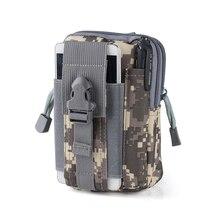 Купить с кэшбэком 2019 Fashion Multifunction men's waist bag Pouch Belt Bag Military waist bags Soft Travel Bags