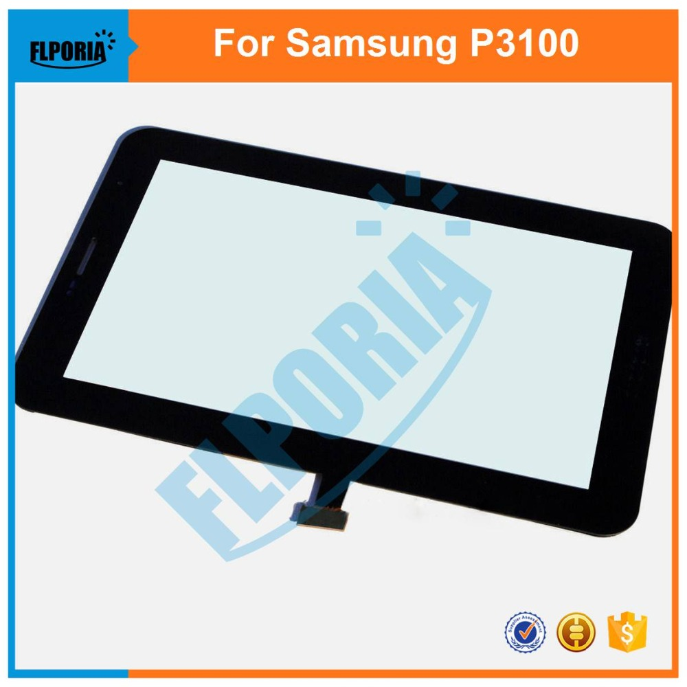 Touch Screen Digitizer For Samsung Galaxy Tab 2 P3100 P3110 Tablet Touch Panel Front Glass with Flex Cable Assembly