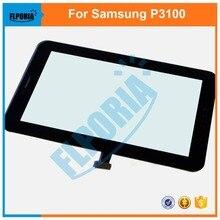 Сенсорный Экран Планшета Для Samsung Galaxy Tab 2 P3100 P3110 Tablet Сенсорная Панель Переднее Стекло со Шлейфом Ассамблеи