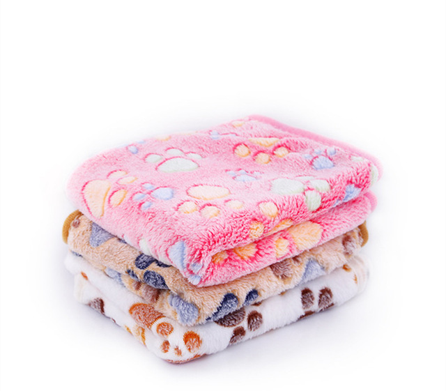 Dog blanket pet pad sleeping mat dog blanket cat coral teddy mattress spring/fall warm dog quilt