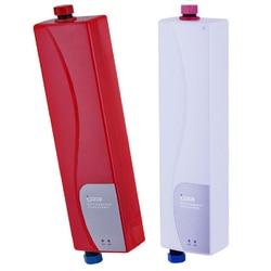Casa tankless aquecedor de água instantâneo chuveiro elétrico aquecedor de água para cozinha banheiro prático duplo escudo aquecimento de água