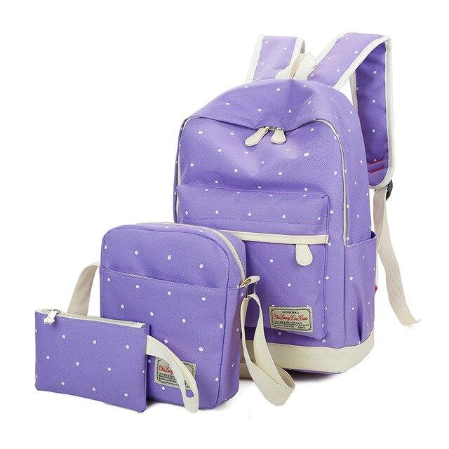 9b017ac397db Girl s lovely dot backpack