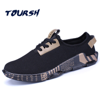 TOURSH 2017 Newly Running Shoes Man Outdoor Sneakers Sports Shoes Flat Trail Run Free Walking Shoes