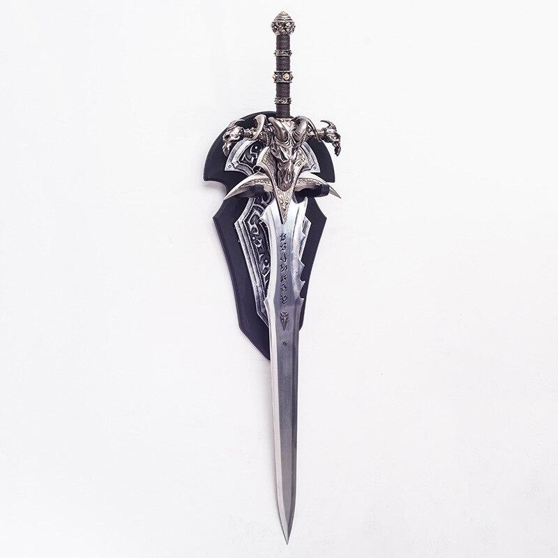[Metallo Made] Artigianato 1:1 Wow Arthas Menethil Spada Frostmourne Modello in Lega di Giocattoli per Adulti Decorazione Della Casa per Adulti Modello di Raccolta regalo - 2
