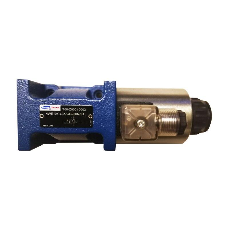 SHLIXIN hydraulic control valve 4WE10Y-L3X/CW220-50NZ5L 4WE10Y-L3X/CG220NZ5L solenoid valve цены онлайн