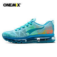 ONEMIX Women Running Shoes Breathable Outdoor White Sports Shoes Walking Sneakers Jogging Pink Summer Trekking Shoes Size 35 43
