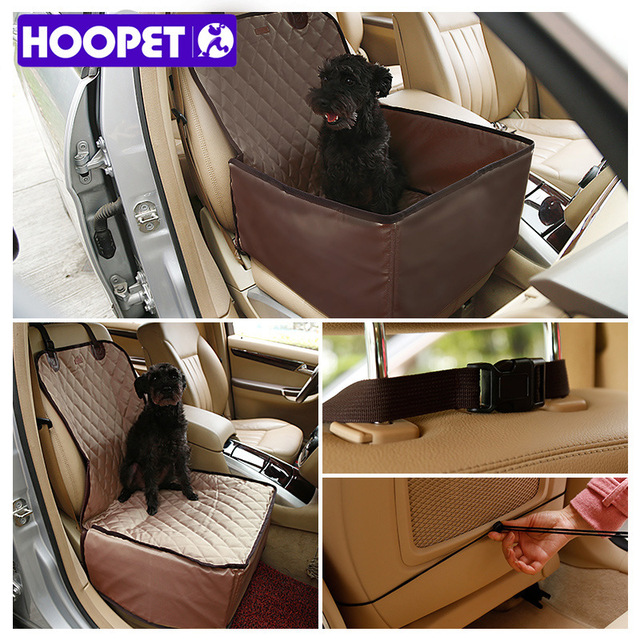 HOOPET Pet Seat Cover Cushion Car Interior Travel Accessories Dog Car Seat Belt Mat Blankets Protector for Car