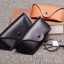 MINIMUM PU Leather Glasses Case Cover Sunglasses Holder Box Eyeglasses Solid Storage Light Pouch Bag