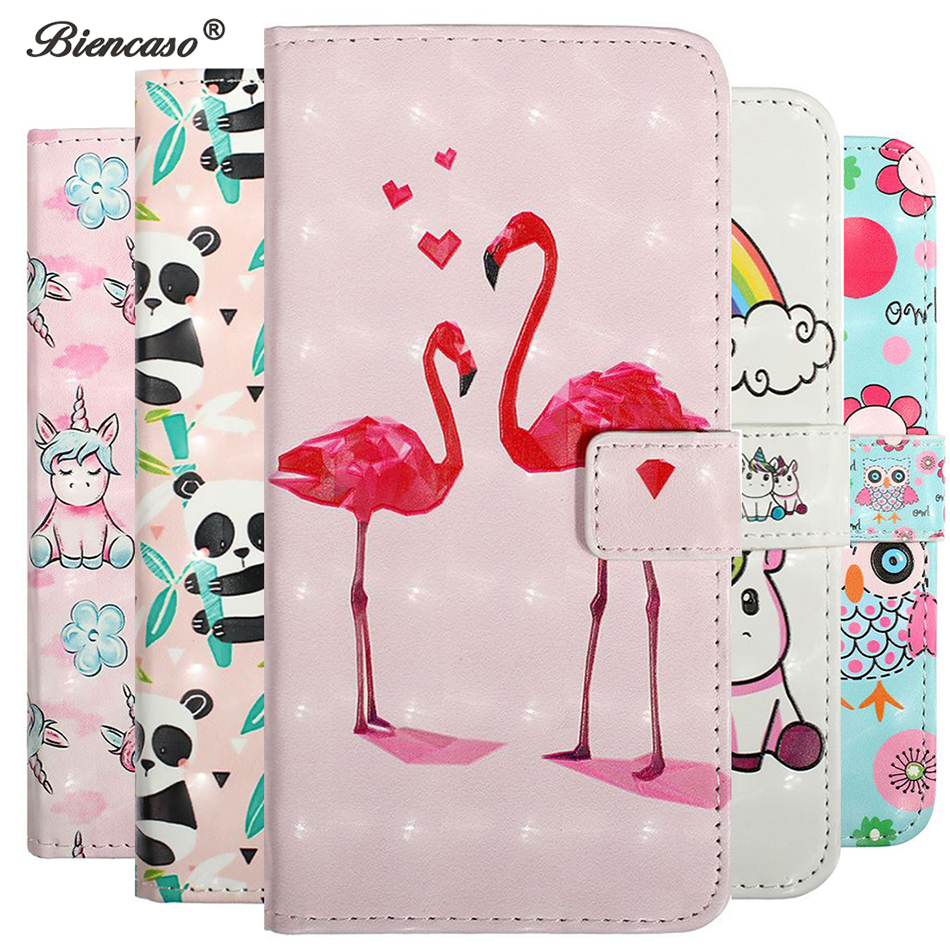 Cute Cartoon Coque Wallet <font><b>Flip</b></font> Phone <font><b>Case</b></font> For Huawei Honor 10 <font><b>Lite</b></font> 7A P30 P20 <font><b>Lite</b></font> <font><b>Mate</b></font> <font><b>20</b></font> <font><b>Lite</b></font> Y6 Prime 2018 Y7 Pro 2019 Cover image