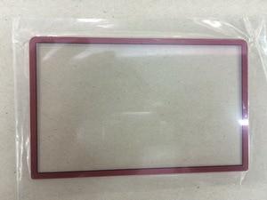 Image 4 - استبدال أعلى سطح الزجاج ل جديد 3DS LL XL ل جديد 3 dsxl 2015 شاشة الخارجي غطاء للعدسات الأسود الأبيض الأحمر الأزرق