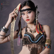 Belly Dance Top Bra for Dance Dancewear Performance Belly Tops For Ladies Belly Dance Tribe Bras  Belly Bra