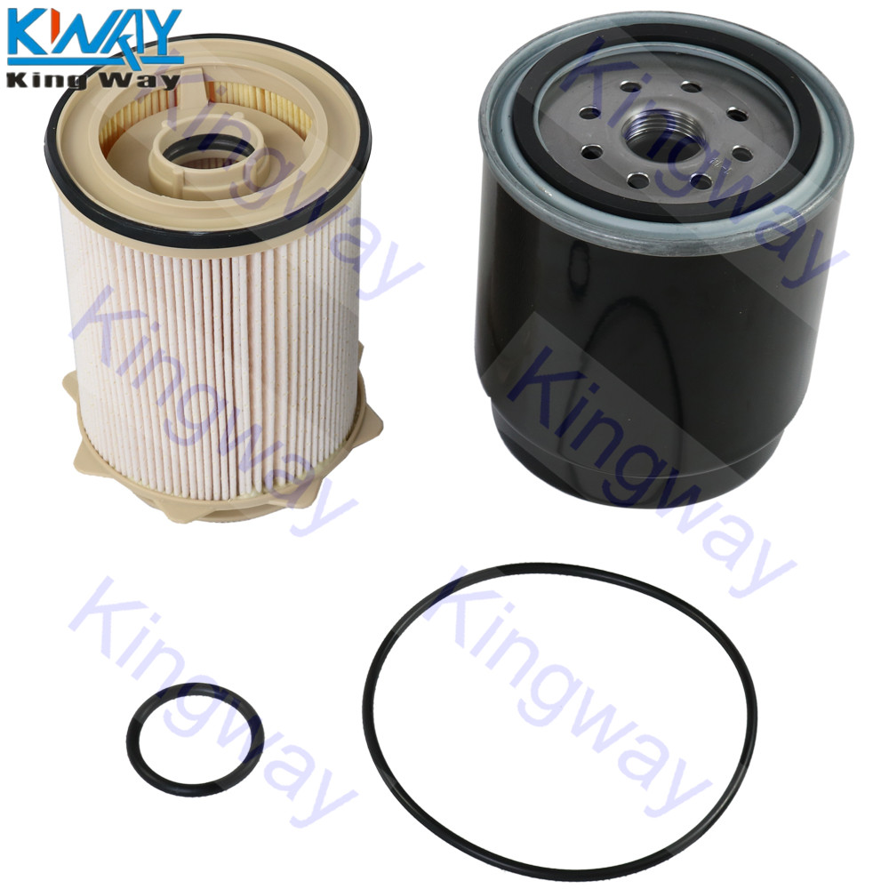 free shipping king way oil & fuel filter for cummins dodge ram 6 7l diesel  2013 17 2500 3500 4500 5500 -in fuel filters from automobiles & motorcycles  on
