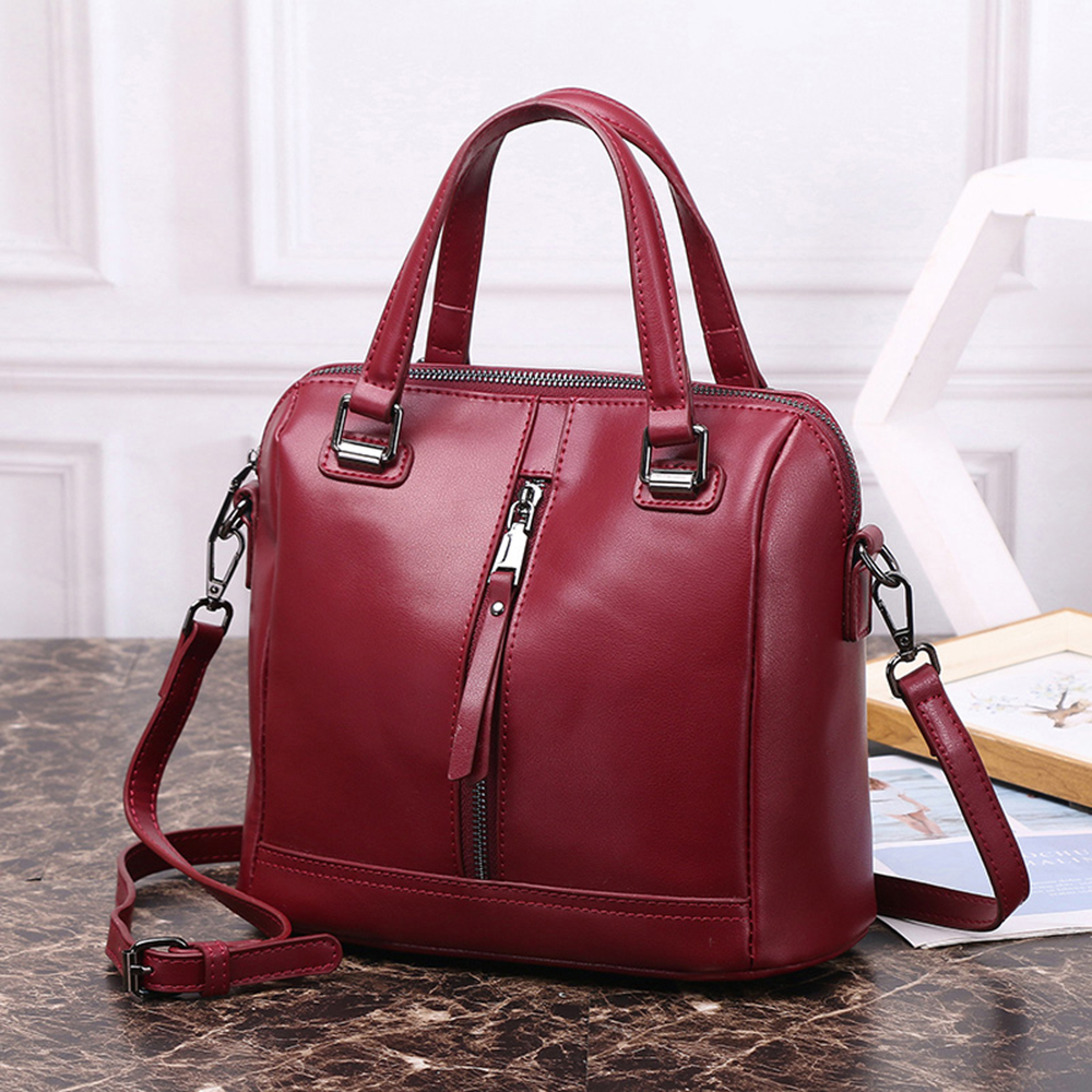 New Fashion High Quality Genuine Leather Bag Lady Beautiful Shoulder Handbag In Bags From Luggage On Aliexpress Alibaba