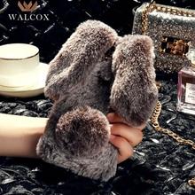 Walcox Case For Meizu M6 M5 M3 Note Max Mini Case Meizu M5S M6S A5 E3 U20 U10 Mx5 M6T 16 Pro 7 Plus Case Cover Rabbit Warm Fur