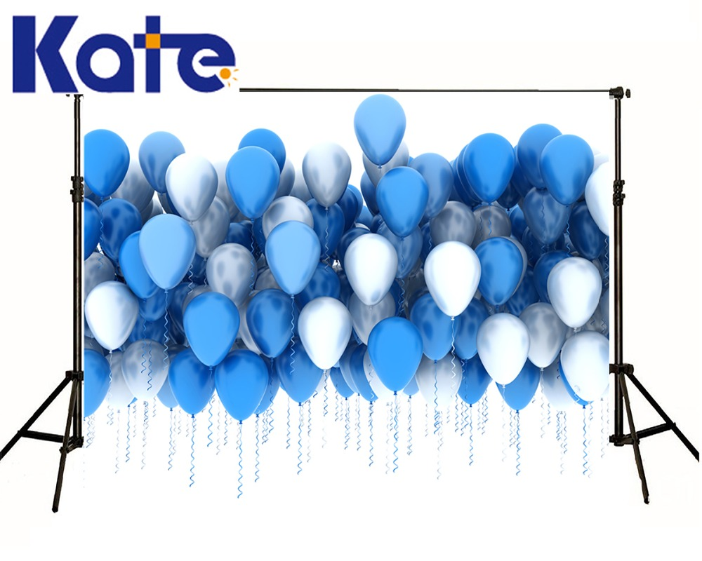 150x200cm Kate White Backgrounds photographic background Blue Balloon For childr