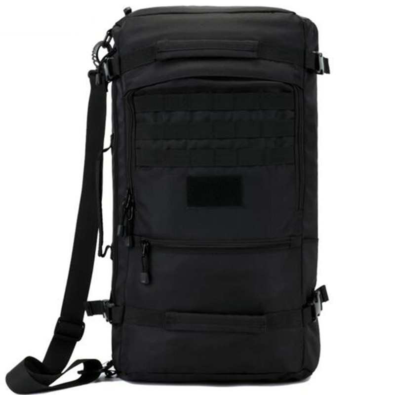 Hot men's bags nylon backpack 60 l military travel bags with high quality rest camouflage Dual-use 17 -inch laptop female bag 2017 hot sale men 50l military army bag men backpack high quality waterproof nylon laptop backpacks camouflage bags freeshipping