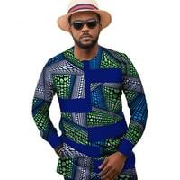 8fe047669ee9550 ... мужской с короткими рукавами без воротни. Посмотреть предложение.  Traditional African Clothing For Men Print Shirt Wedding Full Sleeve  Dashiki Plus Size ...