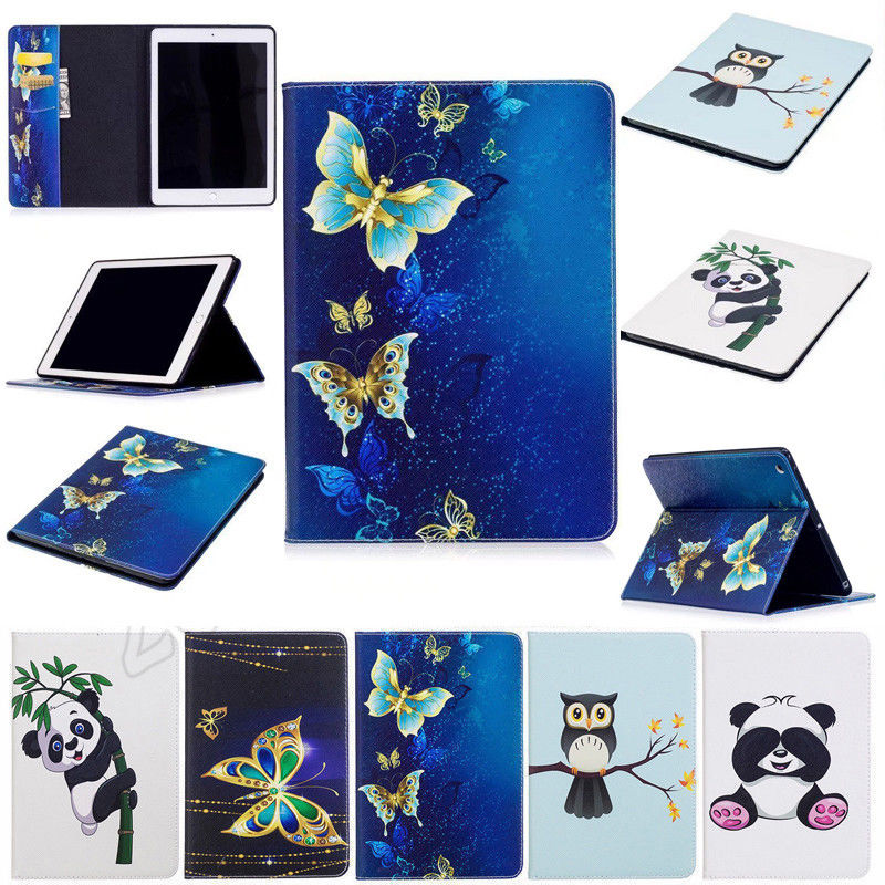 For Samsung Galaxy Tab A6 2016 10.1 T585 T580 T580N Tablet Cover Case Cartoon Leather Flip Stand Case For Samsung Tab A6 10.1