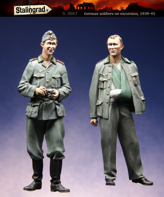 Resin Kits 1 35 Scale German disabled duo army soldiers Resin Model DIY TOYS