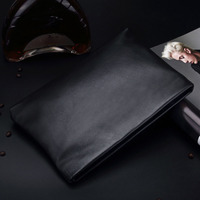 Men S Business Famous Brand Top Quality Genuine Leather Hand Clutch Wallet 2 Fold Purse Male