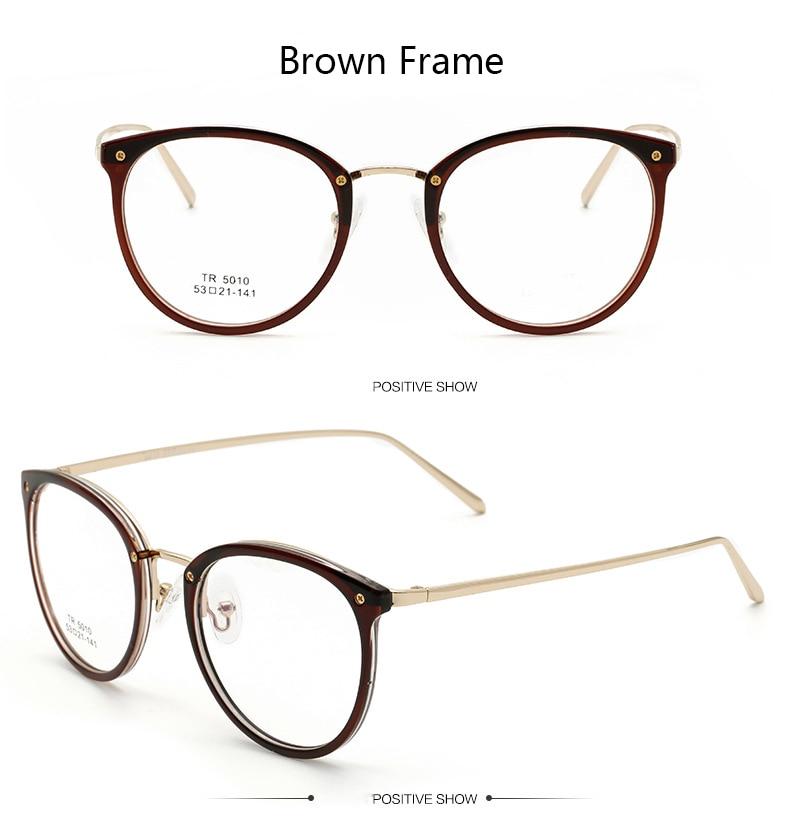 4d768a6a13d19 Novos Oculos de grau Ultra Light TR90 Armações de Óculos Para As ...