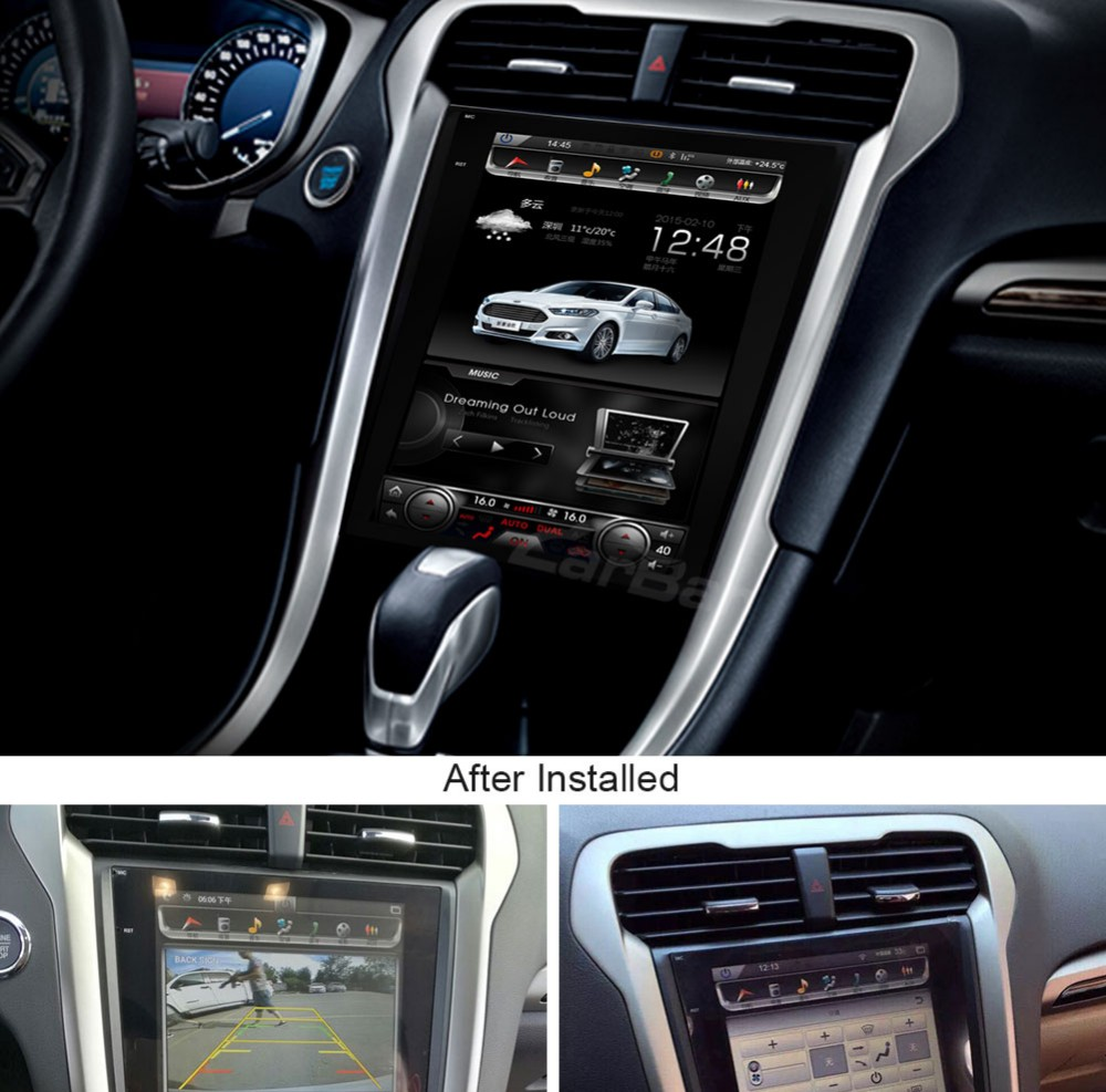 2007 Ford Fusion Radio Display