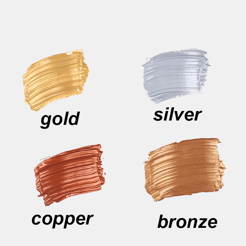 Gold/silver/copper/pink   Flash Acrylic Paint Painting 50ml  Winsor&Newton Noble Style Waterproof   Sunscreen School Supplies
