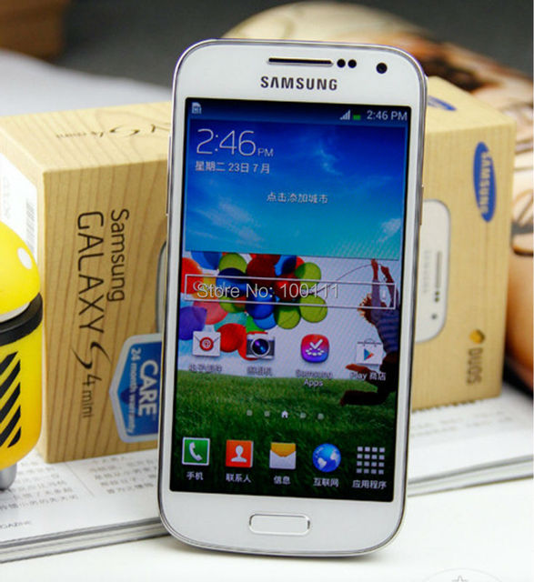 "Unlocked Original Samsung galaxy S4 mini I9195 Mobile Phone android Dual core 4.3"" 1.5G RAM+8G ROM 8MP,Free Shipping"