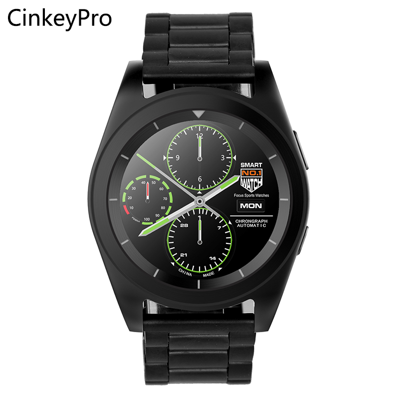 CinkeyPro Smart Watch Men G6 1.2inch IPS MTK2505 Sport ...