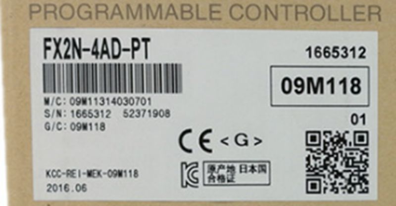 FX2N-4AD-PT new original PLC in stock
