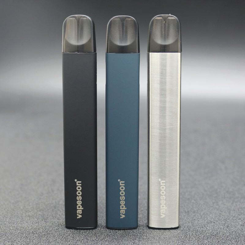 Vapesoon Apod Kit Vape Pod System Kit 1.2ml Refillable Cartridge 320mAh Pod Device E-Cigarette EPacket Free Shipping