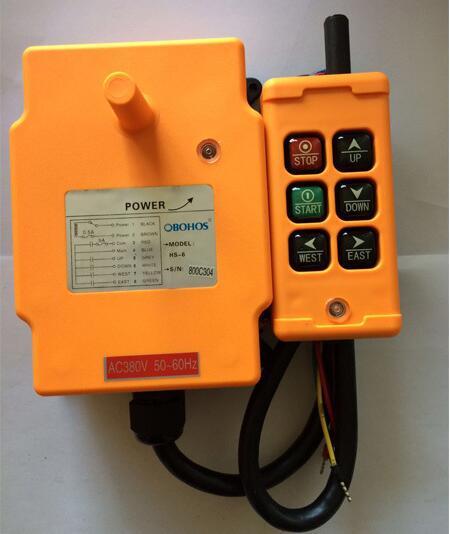все цены на hs-6 12V 24V crane industrial remote control HS-6 wireless transmitter push button switch онлайн