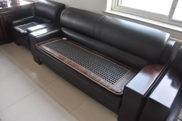 Massage thermische toermalijn couch bench mat met elektrische ...