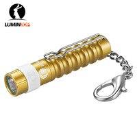 LUMINTOP Mini Worm AAA 110 Lumens Keychain Flashlight With Clip 1X AAA Battery Cree LED Tool