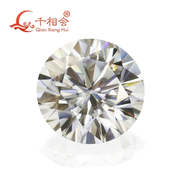 3mm to 12mm GH color white Round Brilliant cut moissanite  loose stone high quality round brilliant cut sapphire loose stone gic certificate sapphire loose gemstone from sapphire mine in china